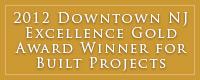 Downtown NJ Gold Award 2012