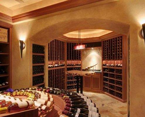 Finn Construction Wine Cellar