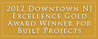 Downtown NJ Gold Award 2012