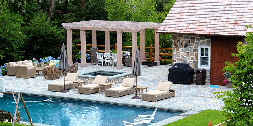 Pool house cabanas jack finn building contractor for Pool houses and cabanas