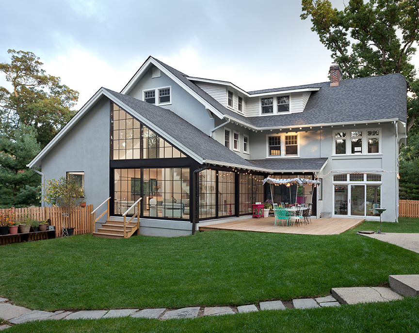 Montclair Renovation Craftsman Colonial Jack Finn