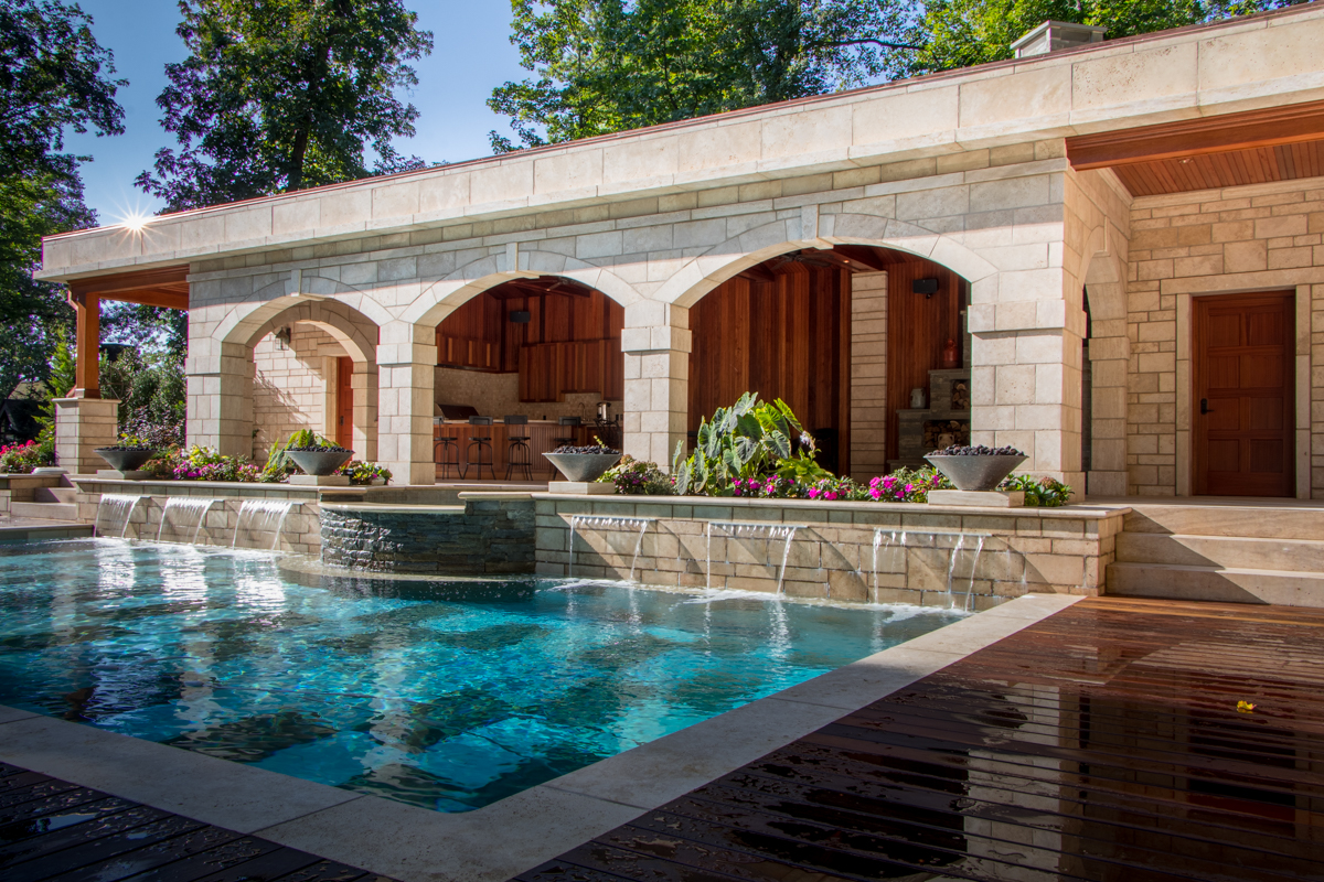 Pool House Montclair New Jersey Jack Finn Building